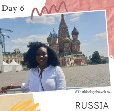 #Thatblackgirltravels to RUSSIA: Day 6 - Moscow