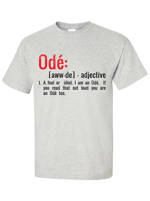 Odé Dictionary T-Shirt -