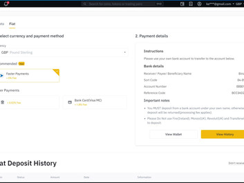 Buy your first Crypto Coin  - Step by Step
