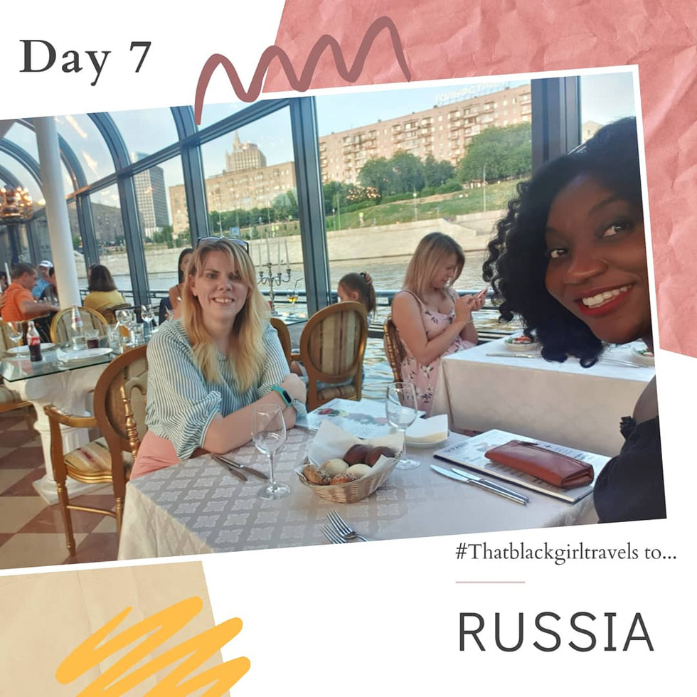 #Thatblackgirltravels to RUSSIA: Day 7 Moscow