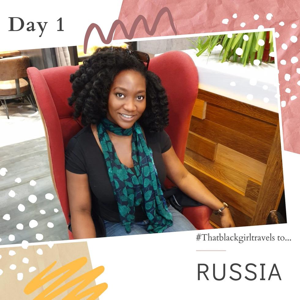 #Thatblackgirltravels to RUSSIA: DAY 1 Nosovo Village
