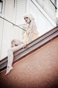 Model: Angelina Lokmatov