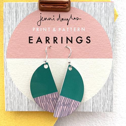Forest Earrings by Jenni Douglas
