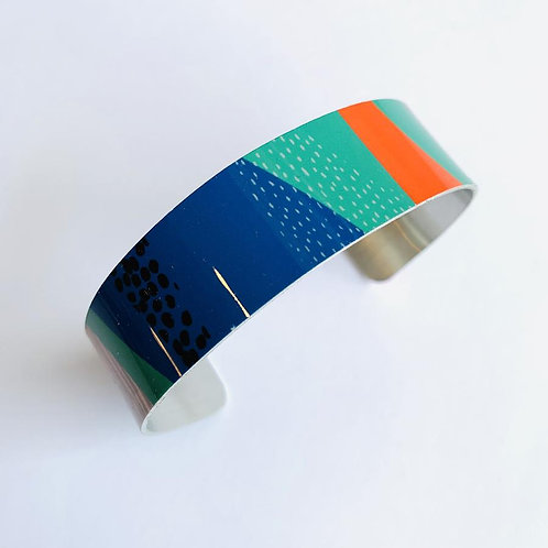 Forest Narrow Cuff By Jenni Douglas