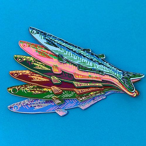 Fish Bookmark by Ark Colour Design