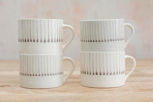 Iba Ceramic Mug in Grey