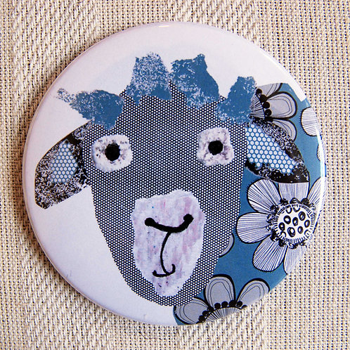 Sheep Pocket Mirror.