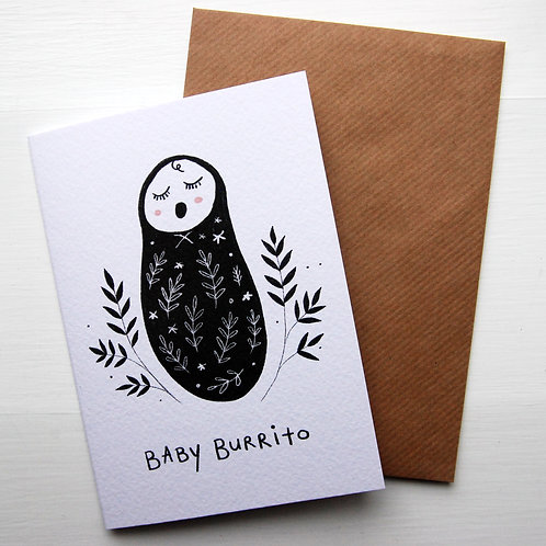 Baby Burrito by Juniper Press
