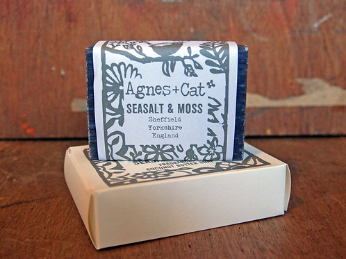 Seasalt and Moss Soap