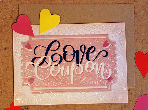Love Coupon Valentine's Card
