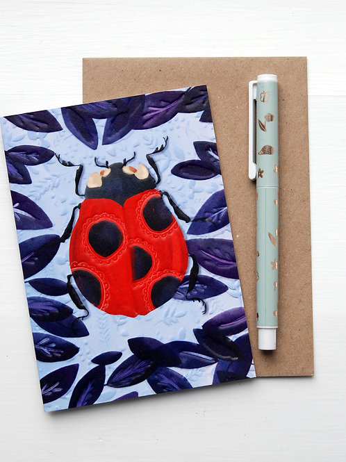 Lady Bird Card by The Little Posy Print Co