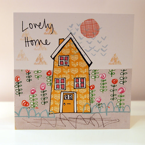 Housewarming Greetings Card.