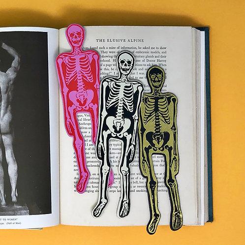 Skeleton Bookmark by Ark Colour Design