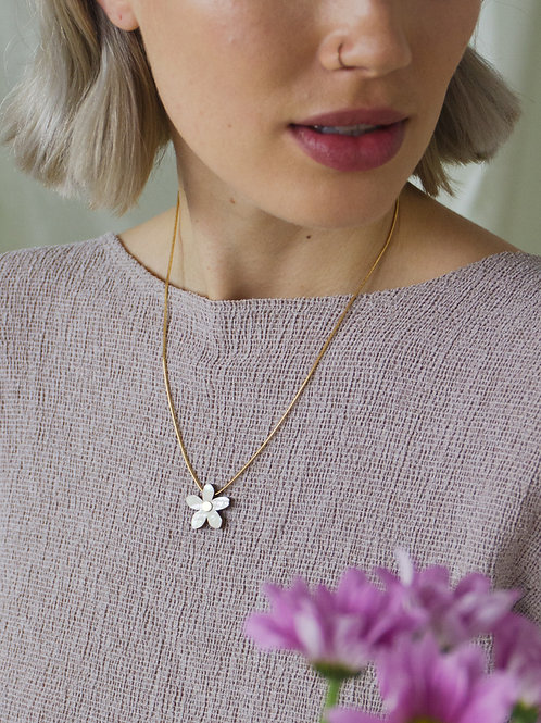 Orange Blossom Necklace by Wolf and Moon
