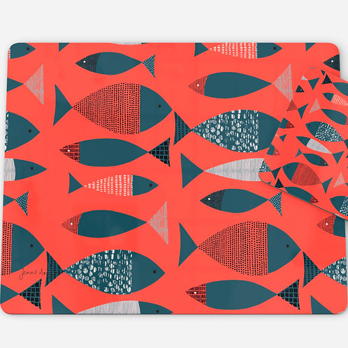 Tide Placemats - set of two