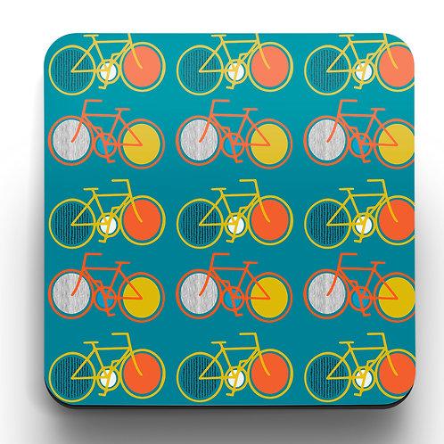 Cycling Coasters - a set of 4