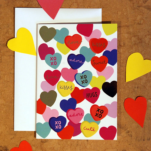 Sweetheart Valentine's Card