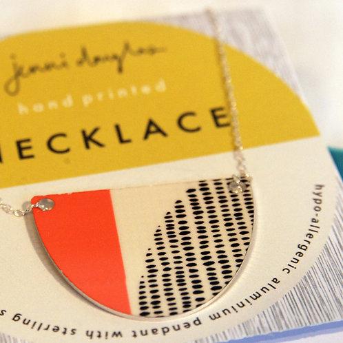 Fjord Necklace (Medium Size) by Jenni Douglas