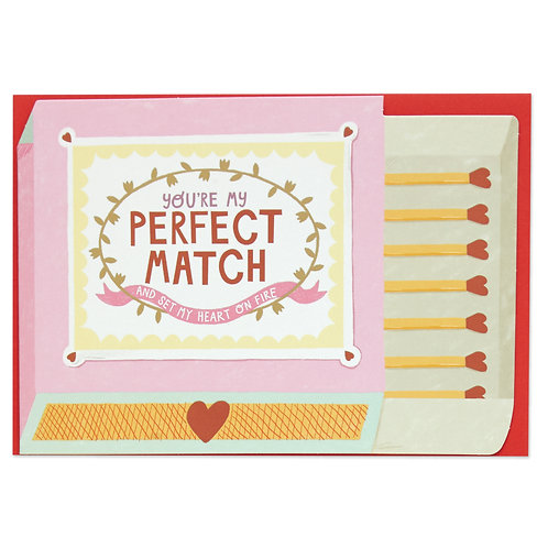 You're my Perfect Match Card