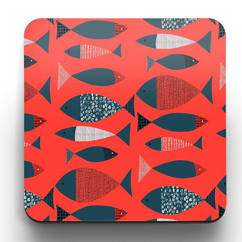 Tide Coasters - a set of 4