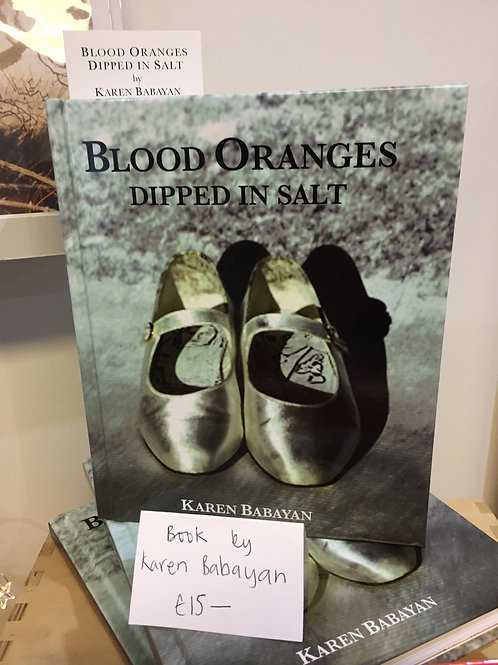 Blood Oranges Dipped in Salt by K. Babayan