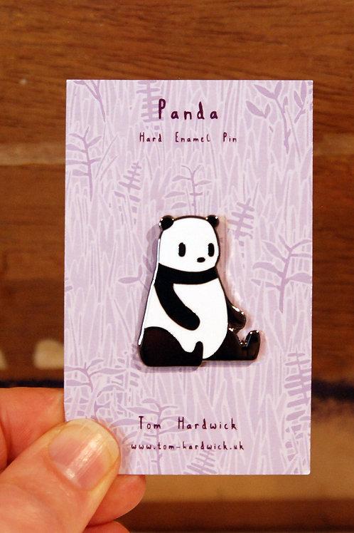 Cute Panda Enamel Pin