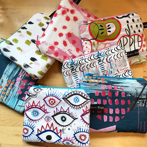 Purses by Grace Rigby Textiles