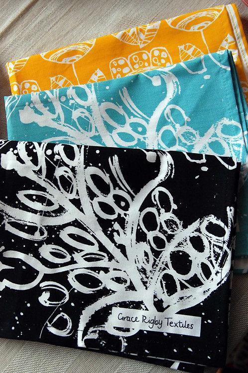 Tea Towel Gift Set  X 3 Tea Towels.