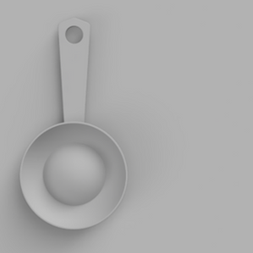 Double-Sided Table Spoon