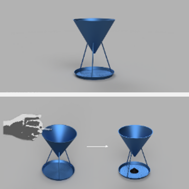 灰皿 -Sand Glass-