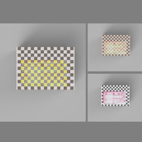 段ボールデザイン -Illusion-