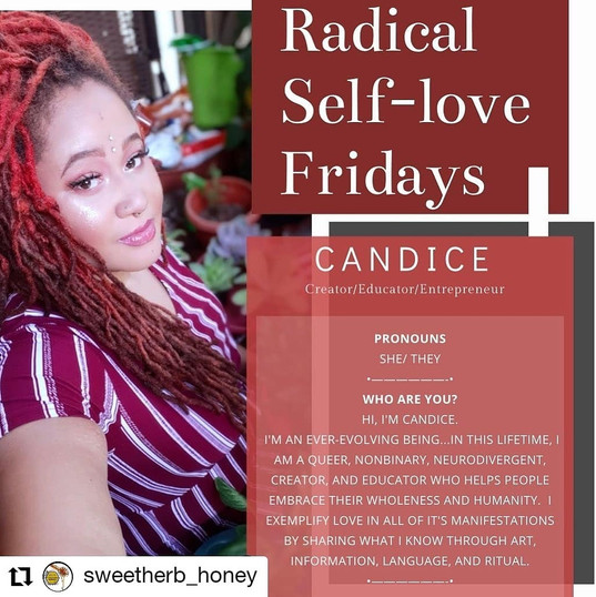 Radical Self-Love with Sweet Herb Honey