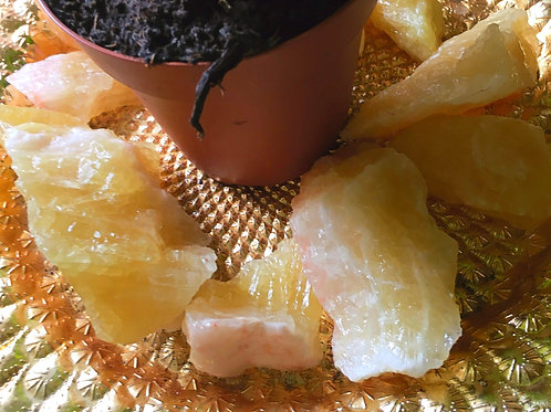 Raw Honey Calcite