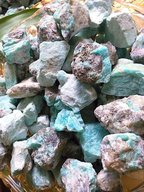 Raw Amazonite