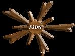 S3DS Logo Copper white lettering Emboss.