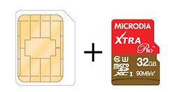 MPlus Spectra - Dual SIM with Expandable Memory Micro SIM + microSD