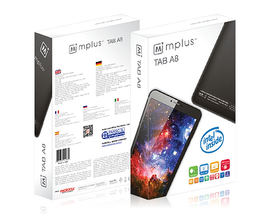 MPlus TAB A8 Packaging