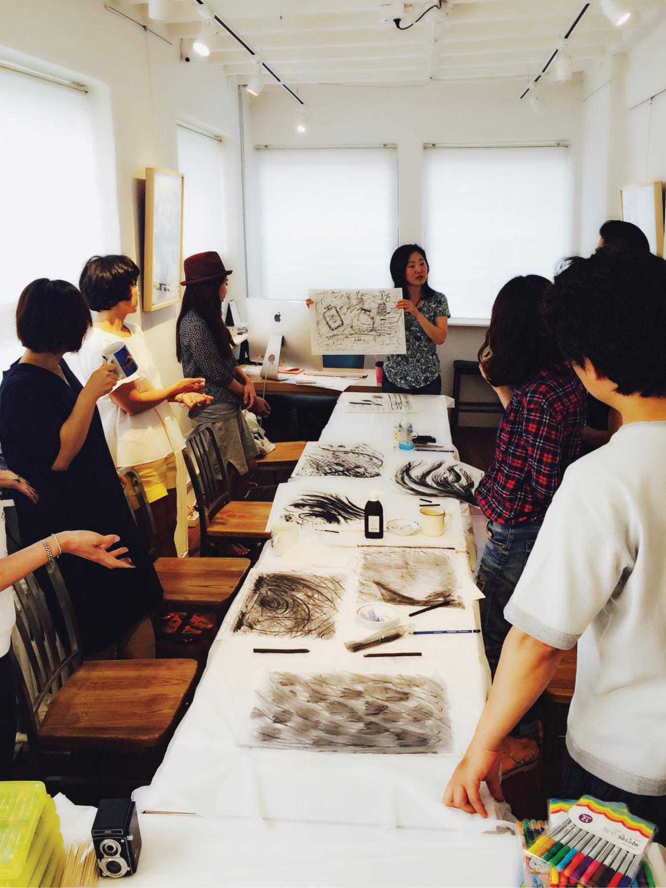 Art Class with the artist