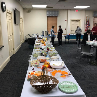 Mayfield Women's Club/ LED Salad Luncheon