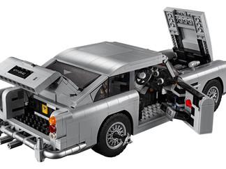 El Aston Martin DB5 de James Bond de Lego