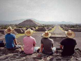 Ruinas de Teotihuacán, México: Una mirada al ayer