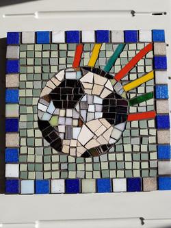 Football mosaic