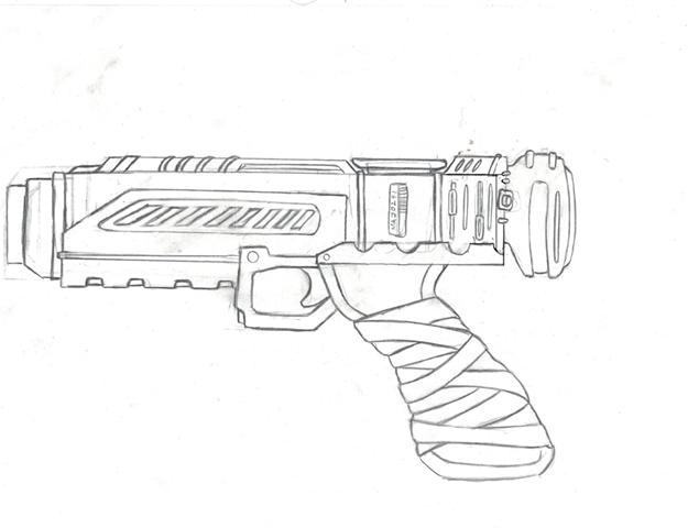 Izy gun design