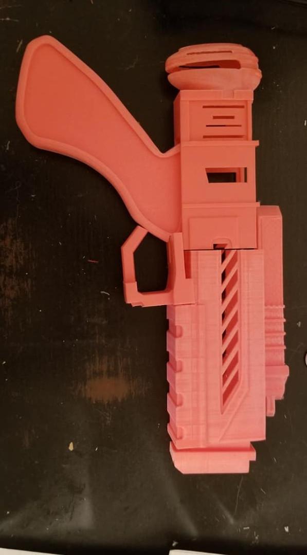 Izy Gun first print