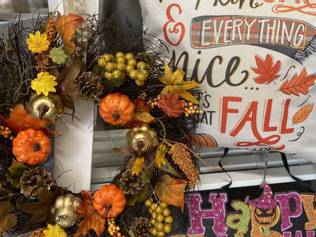 Autumn has landed at Inspirations HQ...