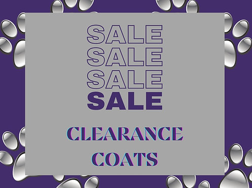 Clearance Coats -Second Skins-Fleece