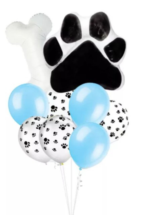 Lets Pawty Foil Balloons