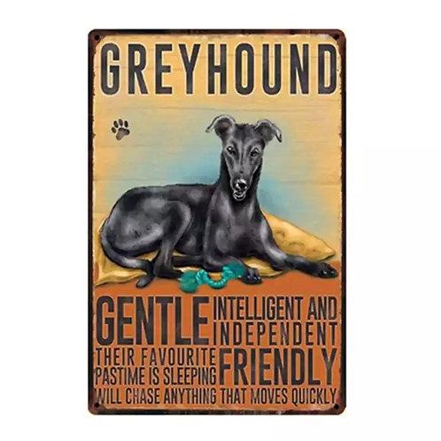 Greyhound Sign
