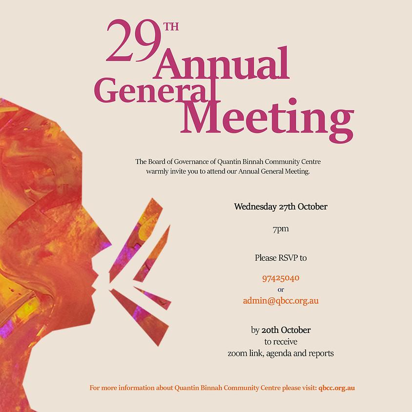 Quantin Binnah 2021 Annual General Meeting