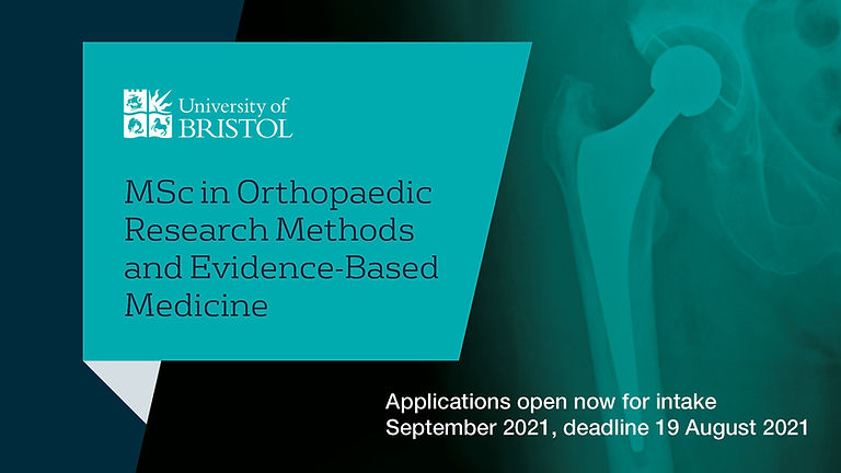 MSc Orthopaedic Research Methods and Evidence-Based Medicine